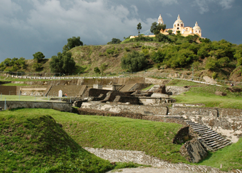 Cholula-Pyramid