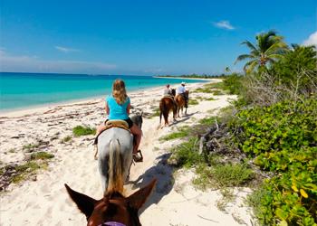 Riviera Maya Horseback Riding On Beach The Best Beaches In World